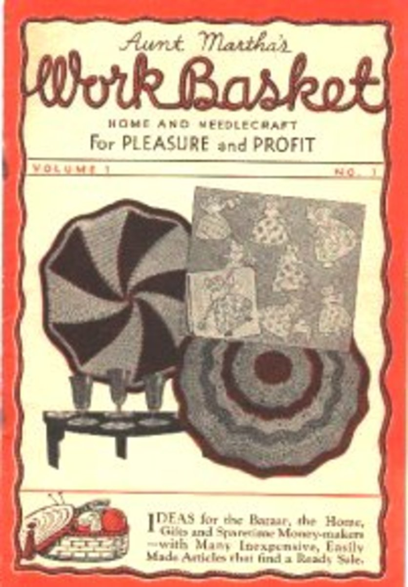 Workbasket Magazine - A Short History of An Original Craft Magazine