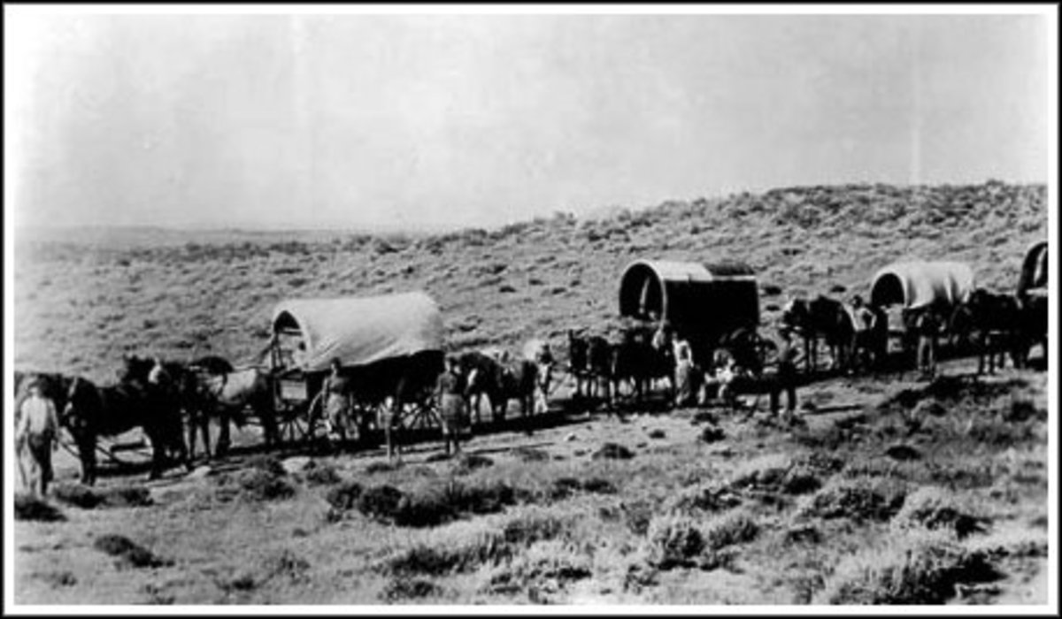 the-old-west-wagon-trains