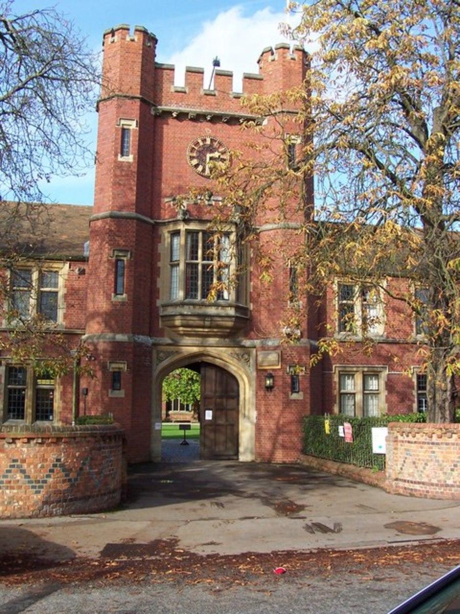 Wantage Hall, Reading University