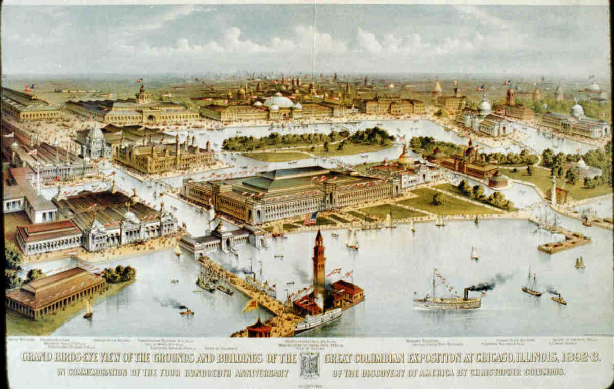 WORLD'S FAIR: COLUMBIAN EXPOSITION