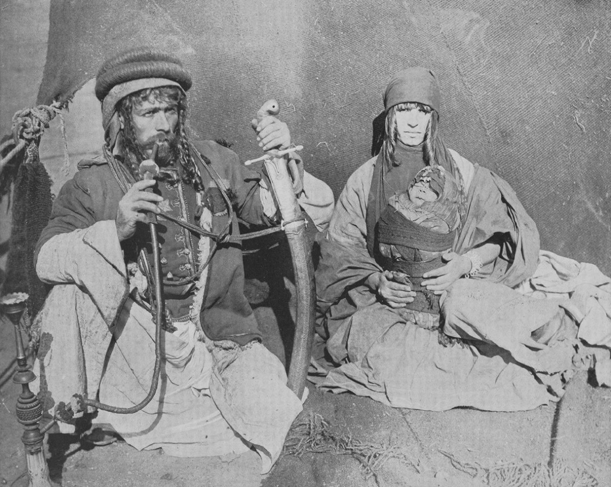 SYRIAN BEDOUINS, COLUMBIAN EXPOSITION