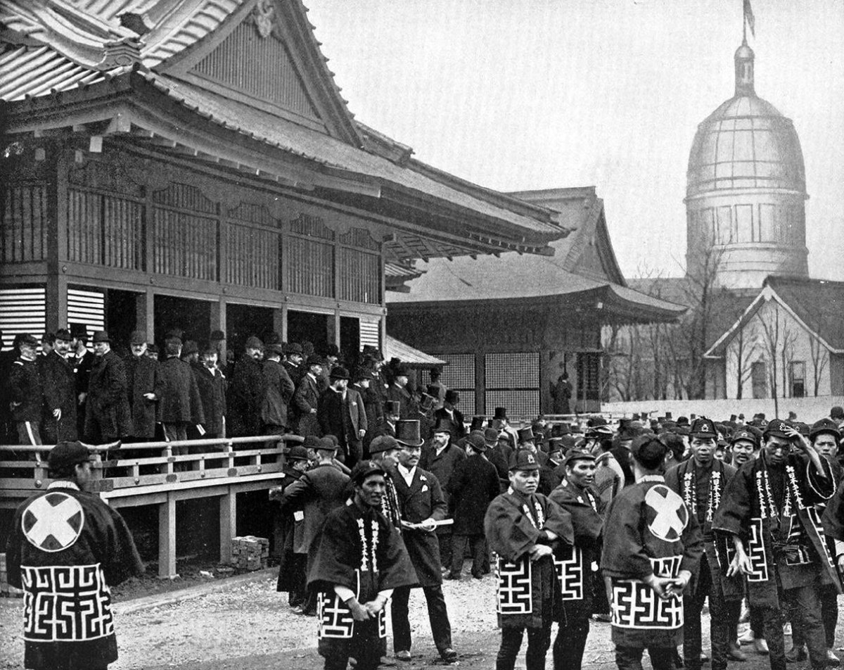 JAPAN EXHIBIT, COLUMBIAN EXPOSITION