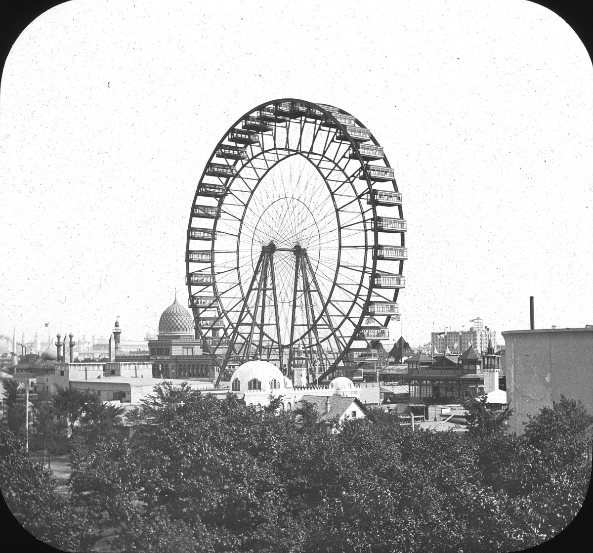 FERRIS WHEEL, COLUMBIAN EXPOSITION