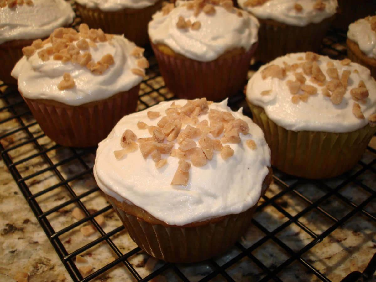 With buttermilk brown butter frosting. Yum.