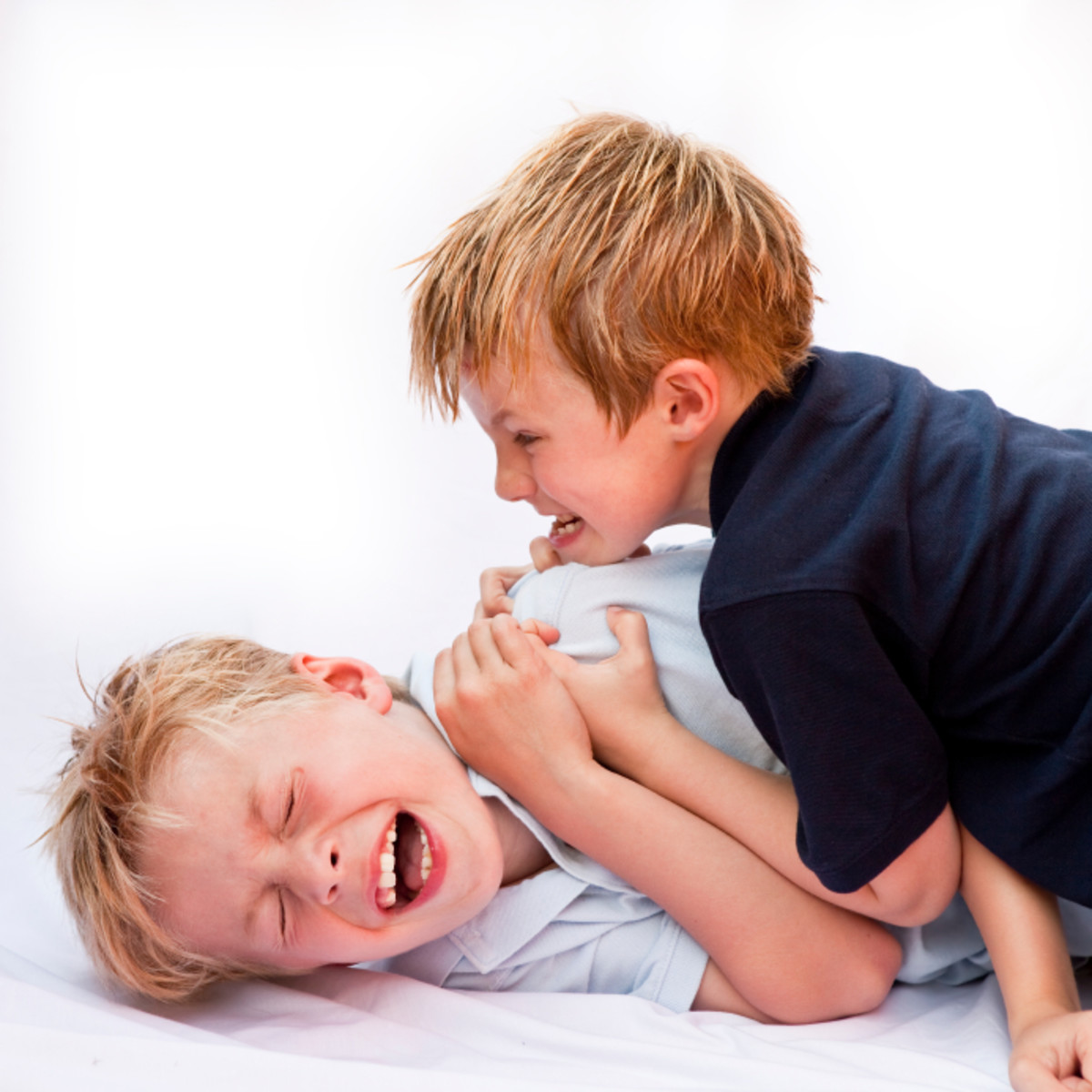 Because of the parental-familial dynamic of the multichild household, many siblings exhibit feelings of jealousy & other forms of animosity towards each other which is manifested in sibling rivalry & other forms of negative sibling behavior.
