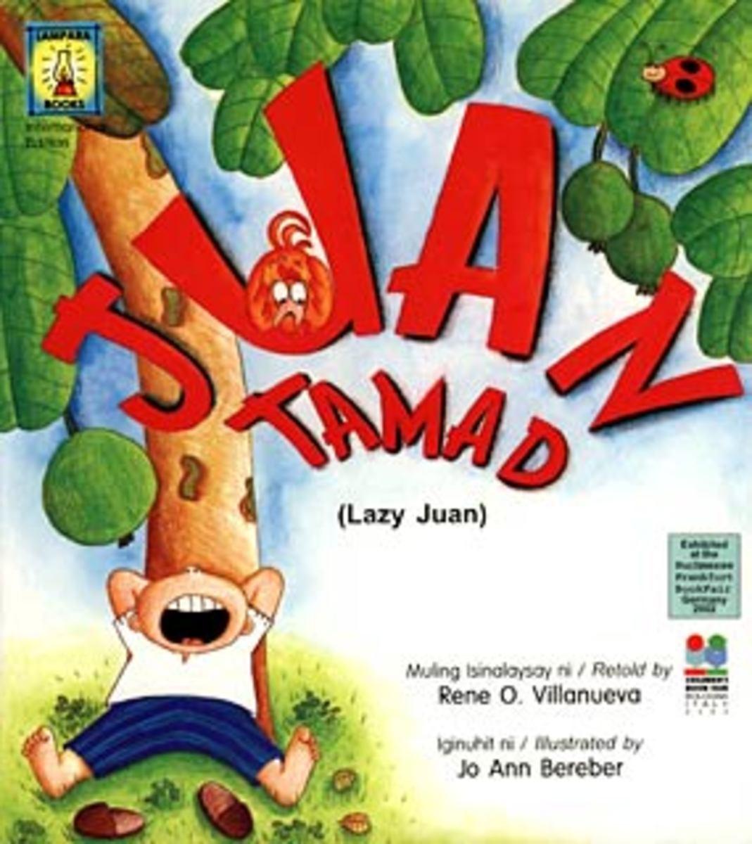 Famous Filipino folklore character, Lazy John (Juan Tamad)
