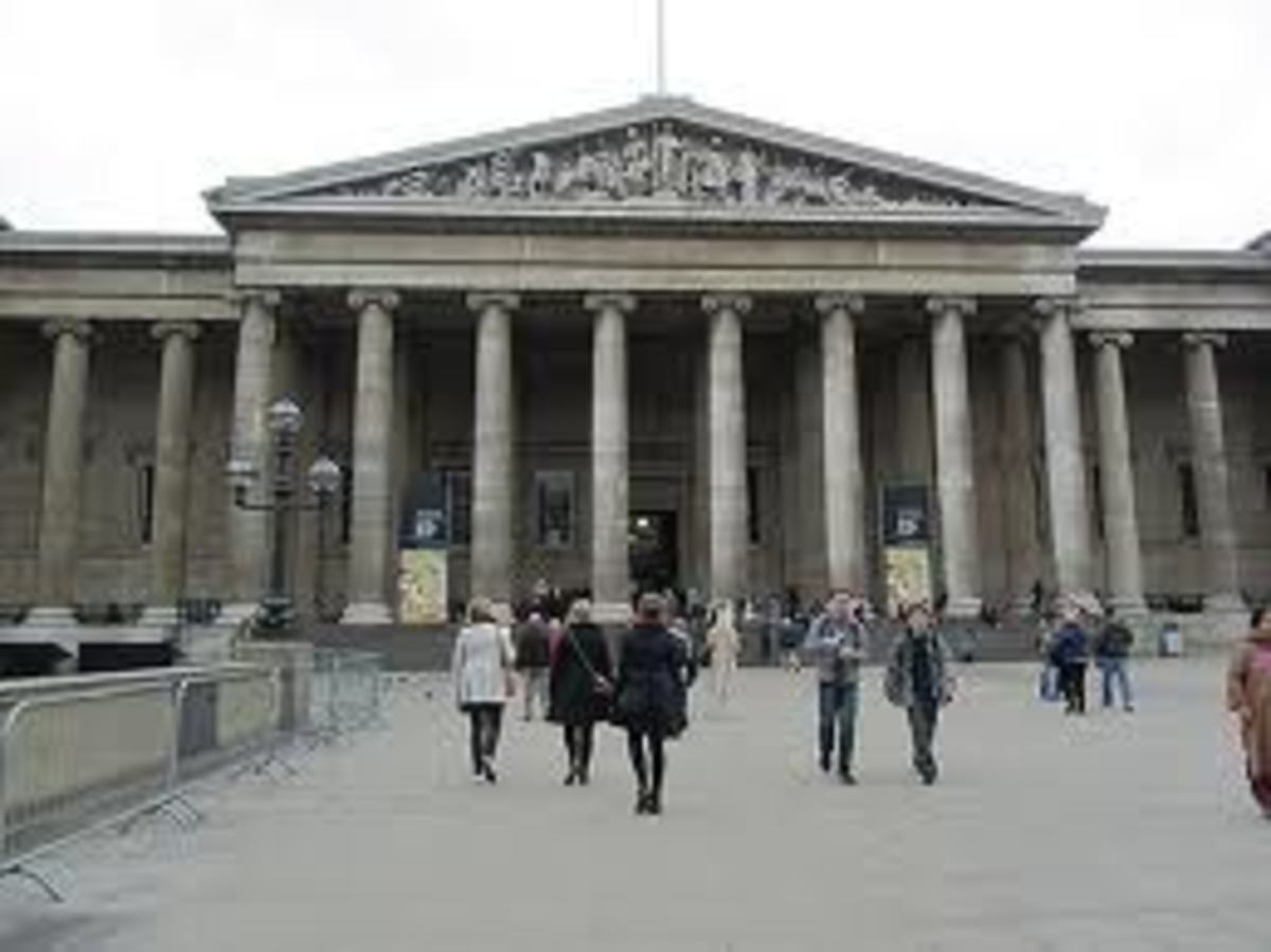 British Museum, Great Russell Street, London