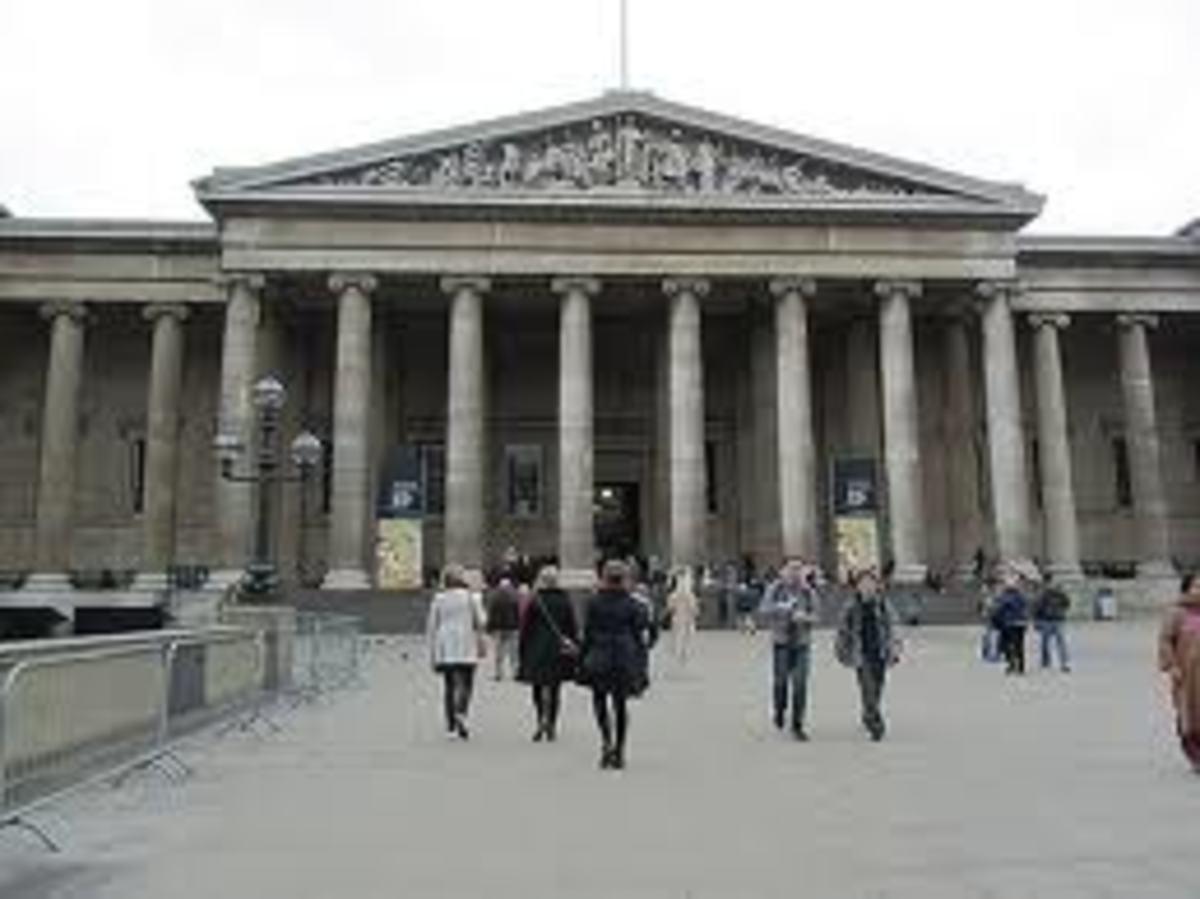 British Museum, Great Russell Street, London
