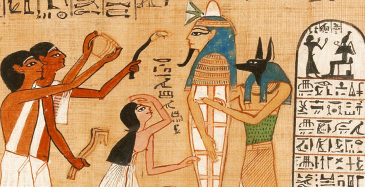 Egyptian art tells of worshiping felines