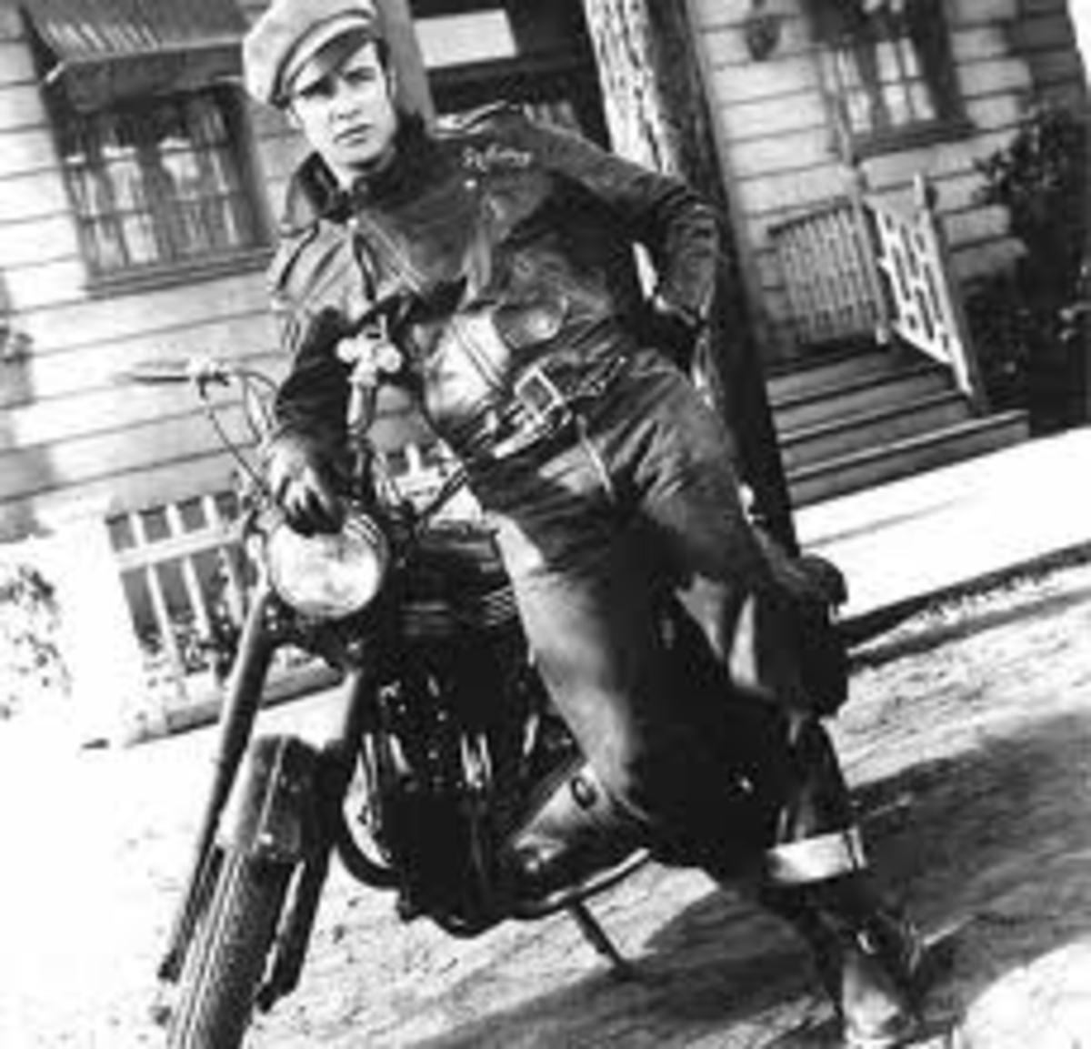 Marlon Brando in Levis