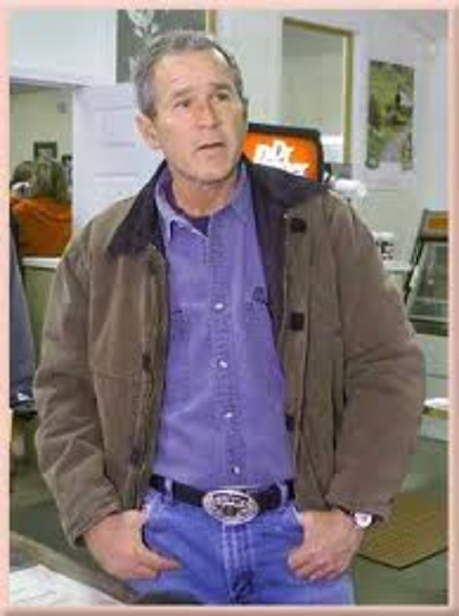 George W. Bush in Levis