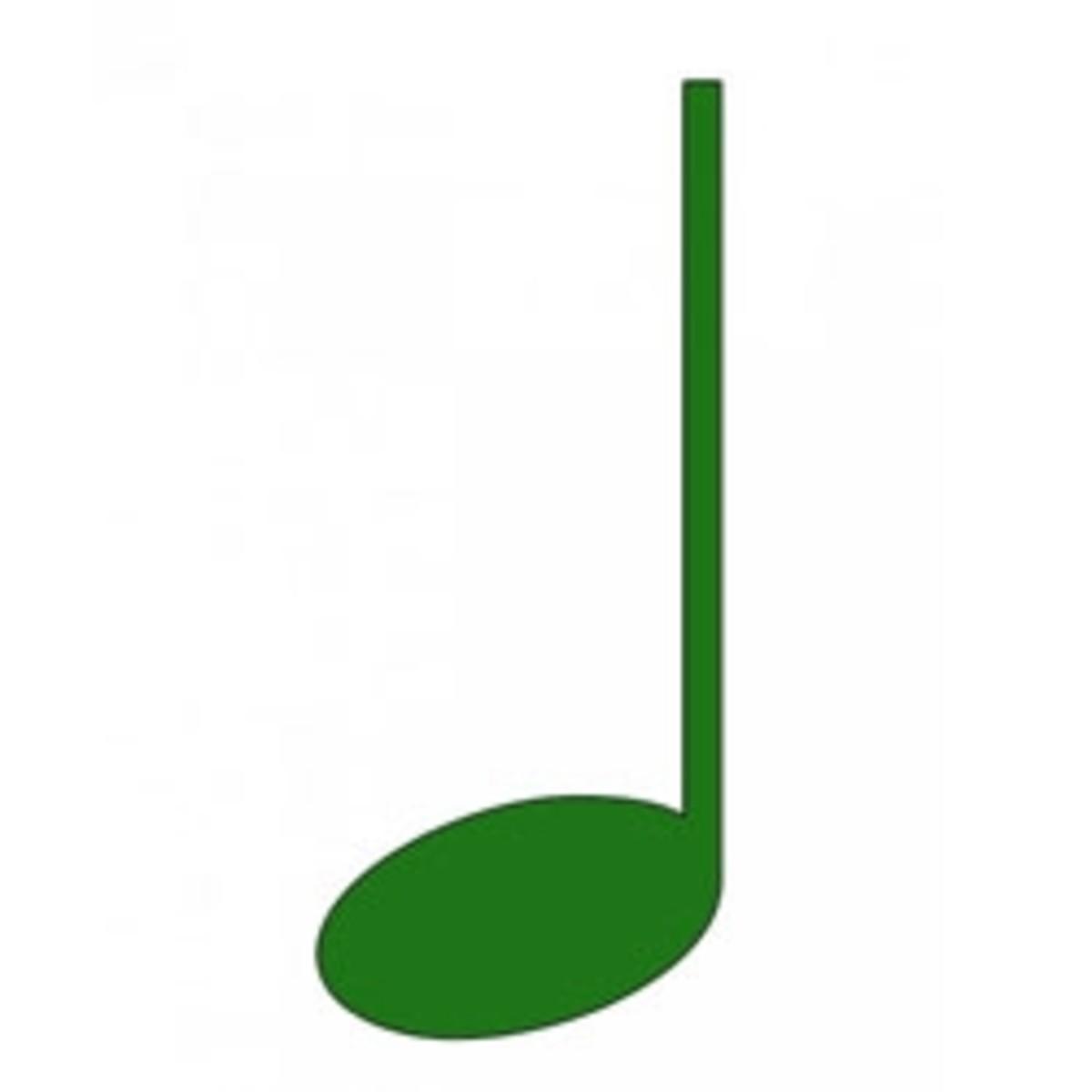 Free Music Clip Art - Quarter Note