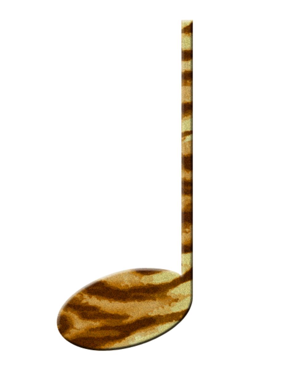 Tiger Fur Music Note