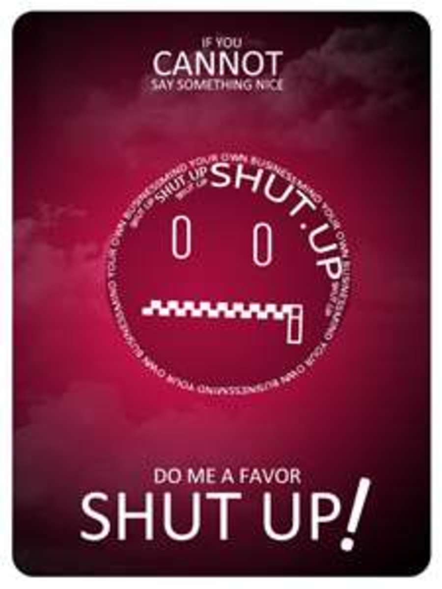 101 Ways to Say Shut Up