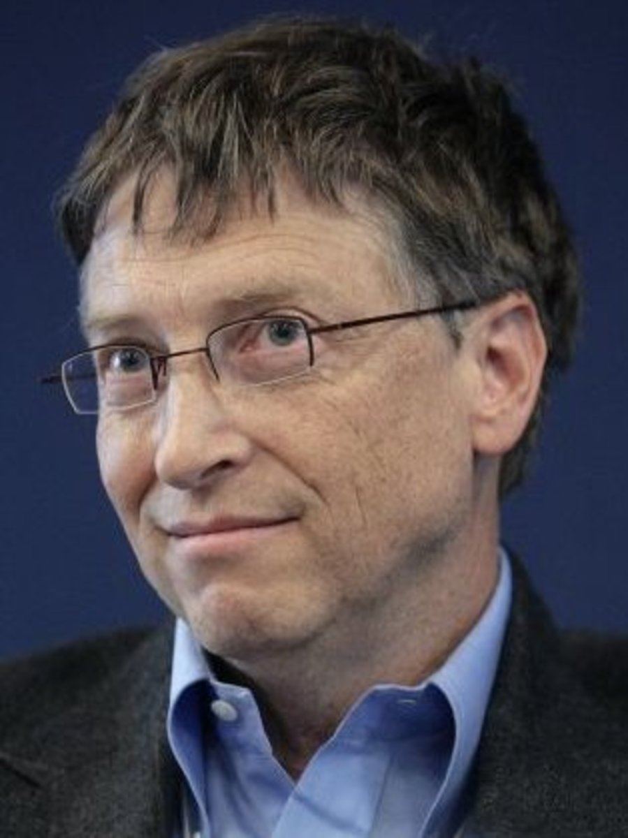 Bill Gates, may be lucky, but you need talent and skills to take advantage of any luck available