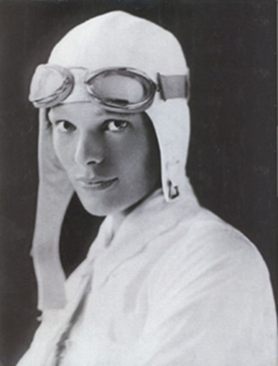 Amelia Earhart inspired women - and men - around the world with her pioneering aviation in the 1930s.