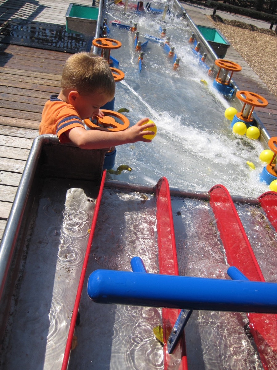 Outdoor Water Play Area