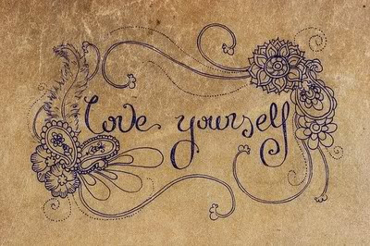 Love Youself First---Then You can Love Another