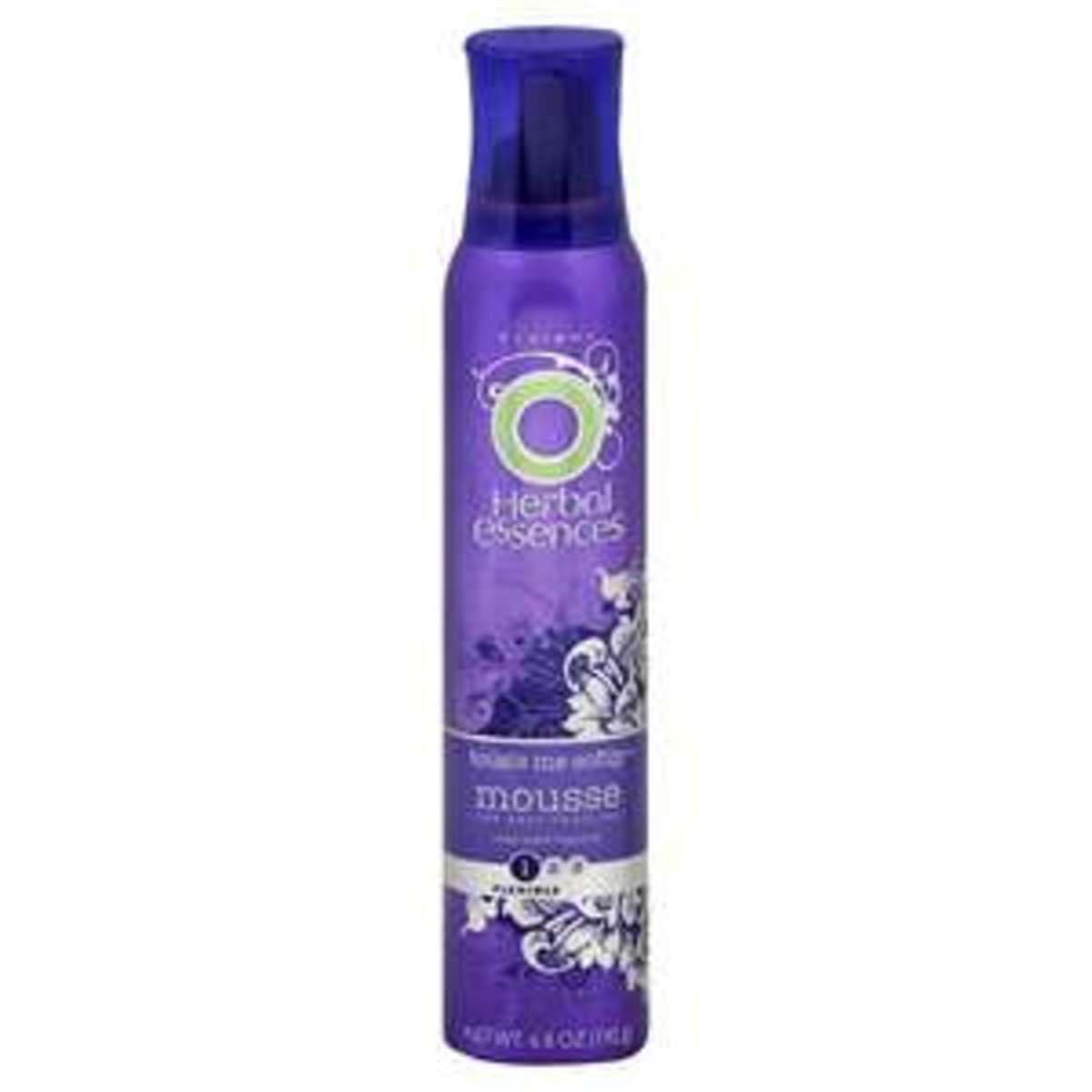 Herbal Essences Tousle Me Softly Mousse, with head up, scruch this into hair from the bottom up. Gently pat some onto the top of hair if it's a little frizzy. You're done !