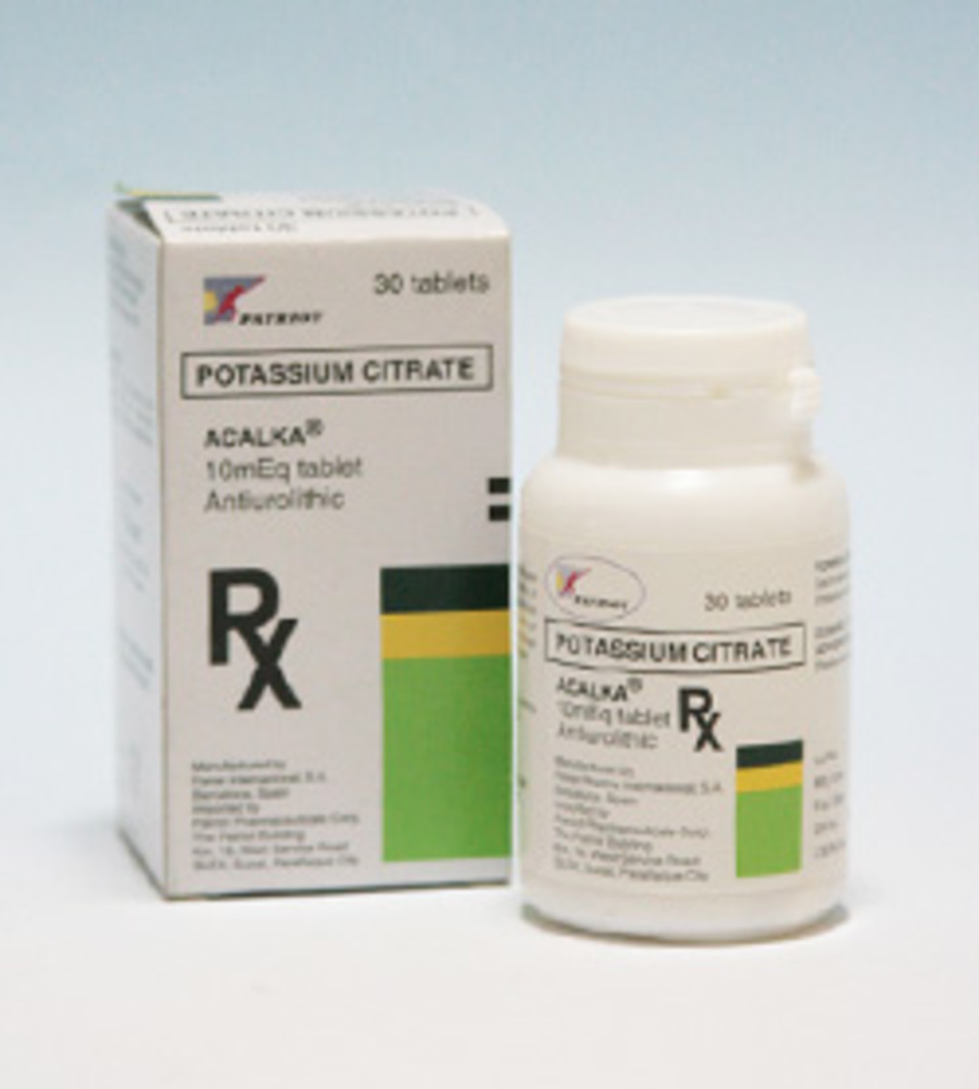 Acalka And Rowatinex Medicine For Treatment Of Kidney Stones