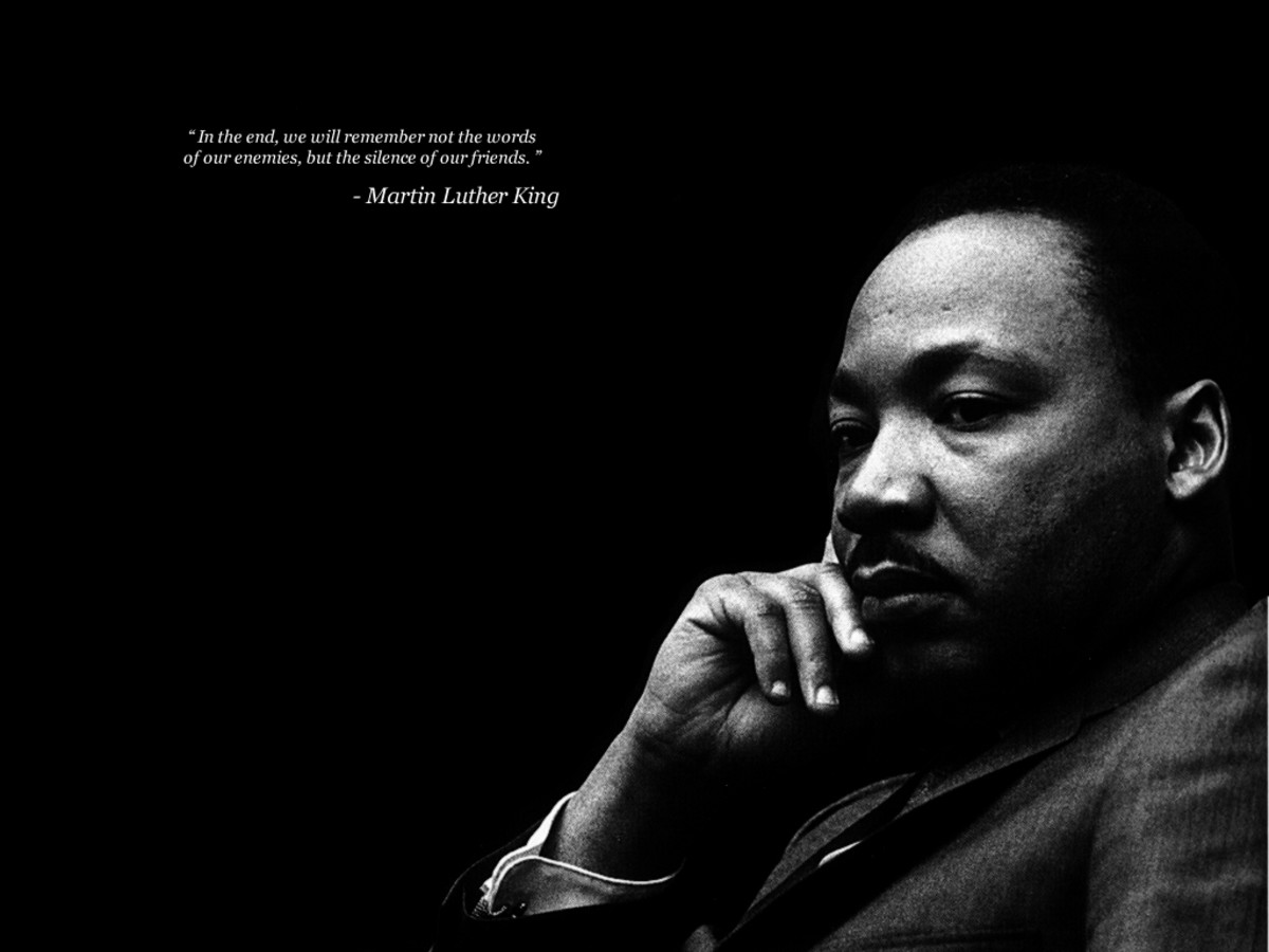 Is this true about this great man called Martin L King?