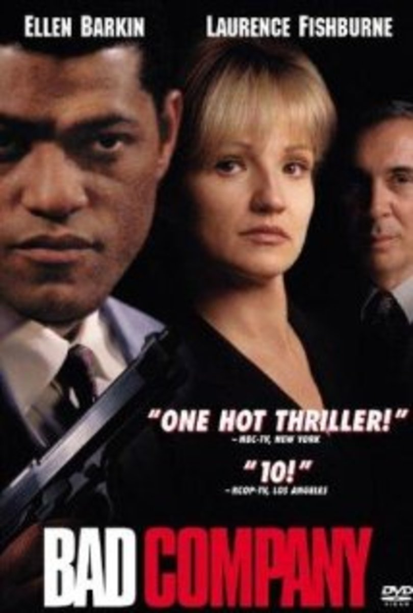 Bad Company (1995) Starring Laurence Fishburne And Ellen Barkin: A Review