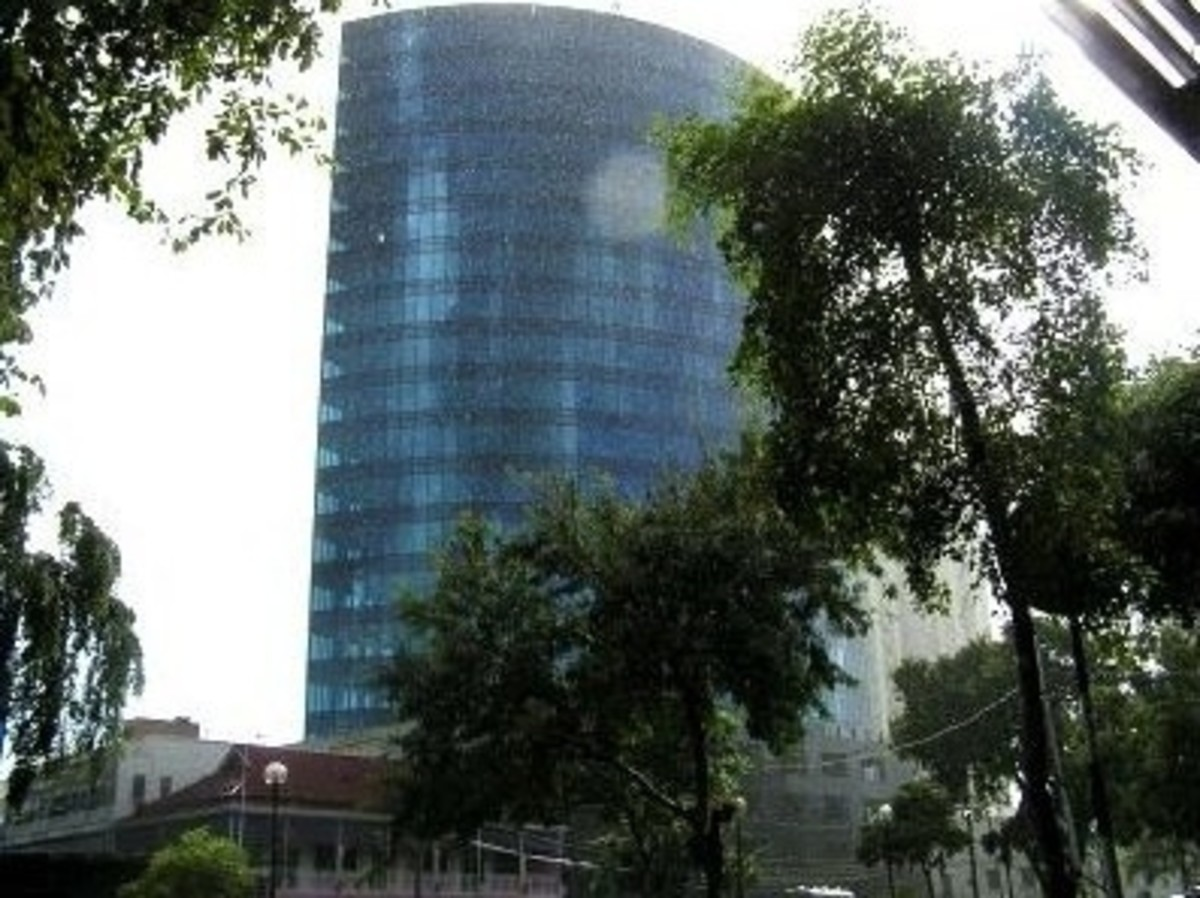 The Nicolas Tower is located in Trinidad and Tobago in the city of Port of Spain