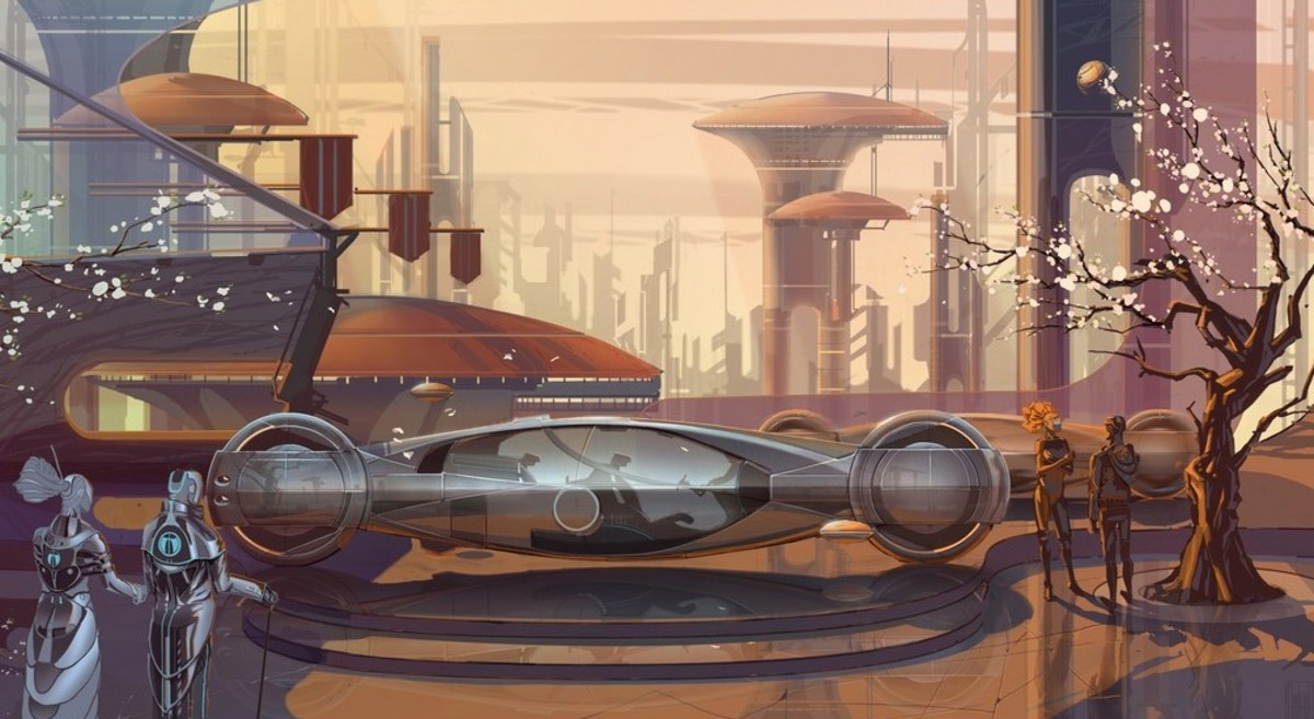Syd Mead Concept Art Hubpages