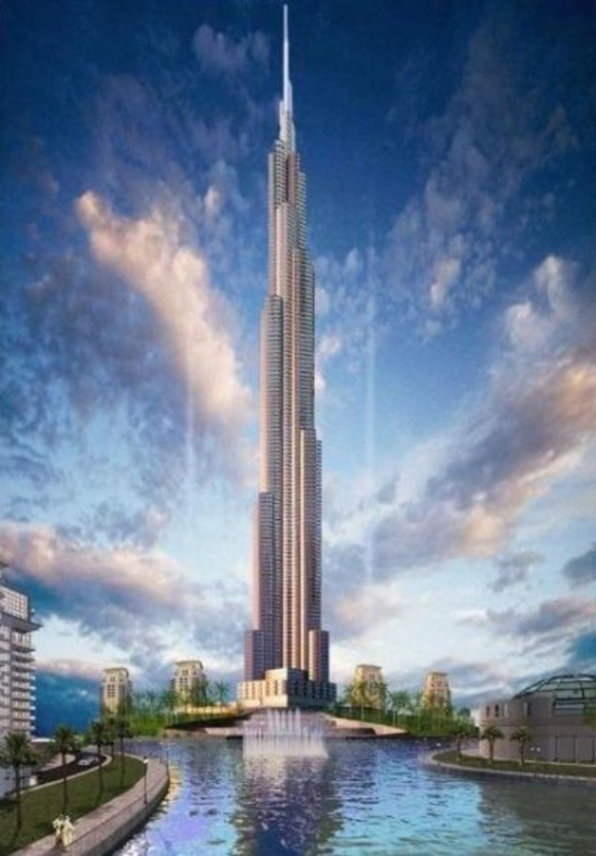 The Burj Khalifa- tallest building