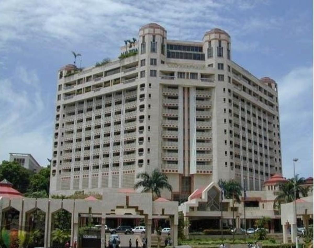 Hilton hotel, Yaounde, Cameroon
