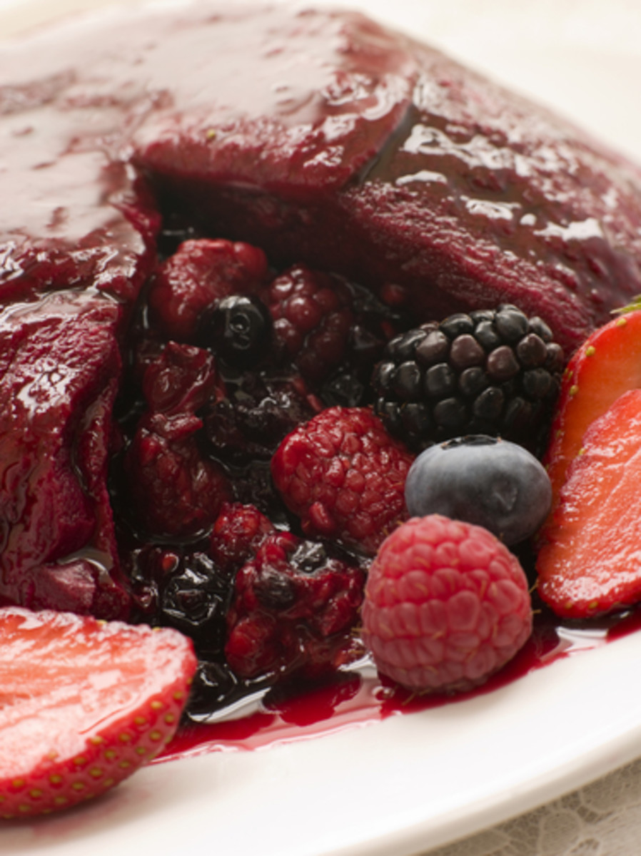 Summer Pudding. Image:  Monkey Business Images|Shutterstock.com