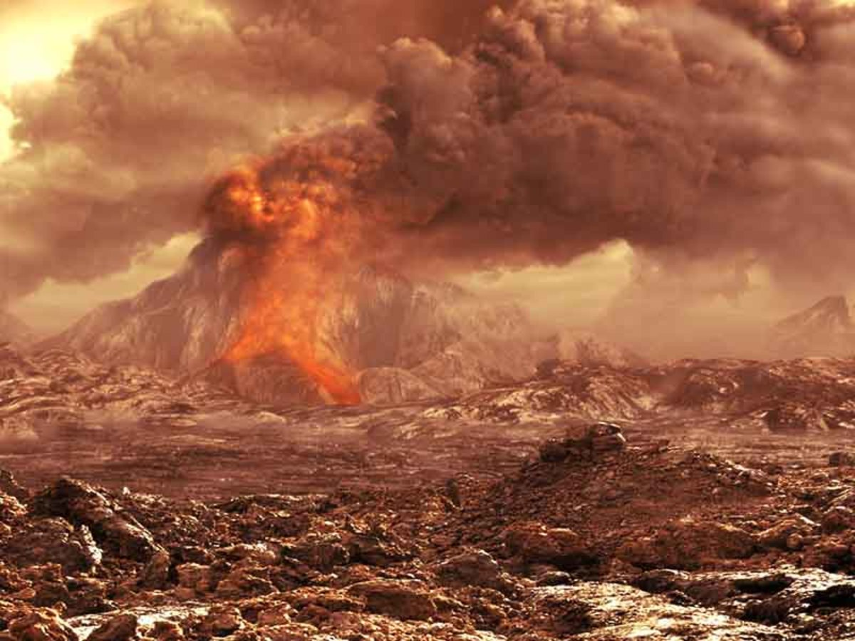 The surface of Venus and she kind of reminds one of HELL does she not?