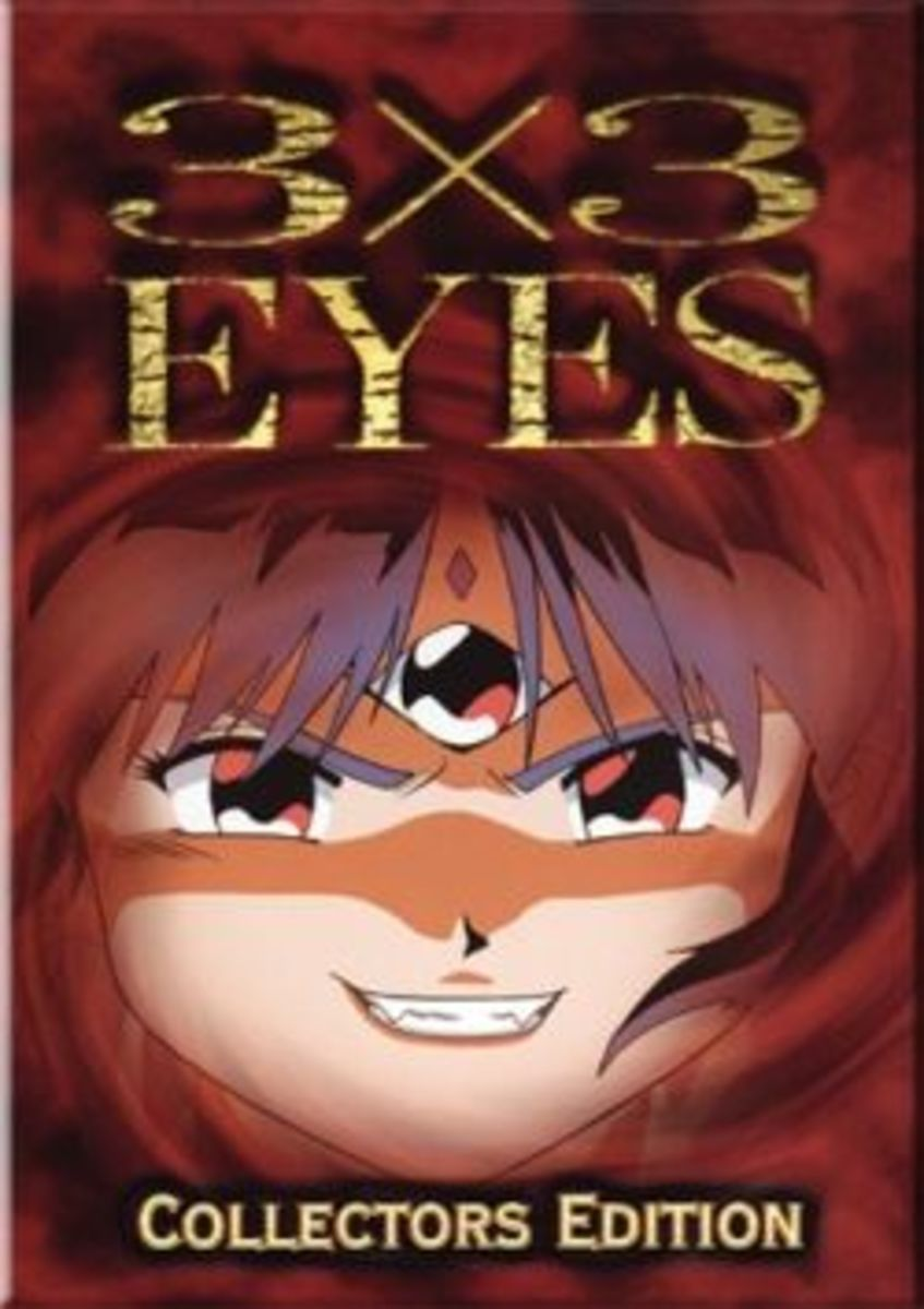3x3 Eyes DVD cover