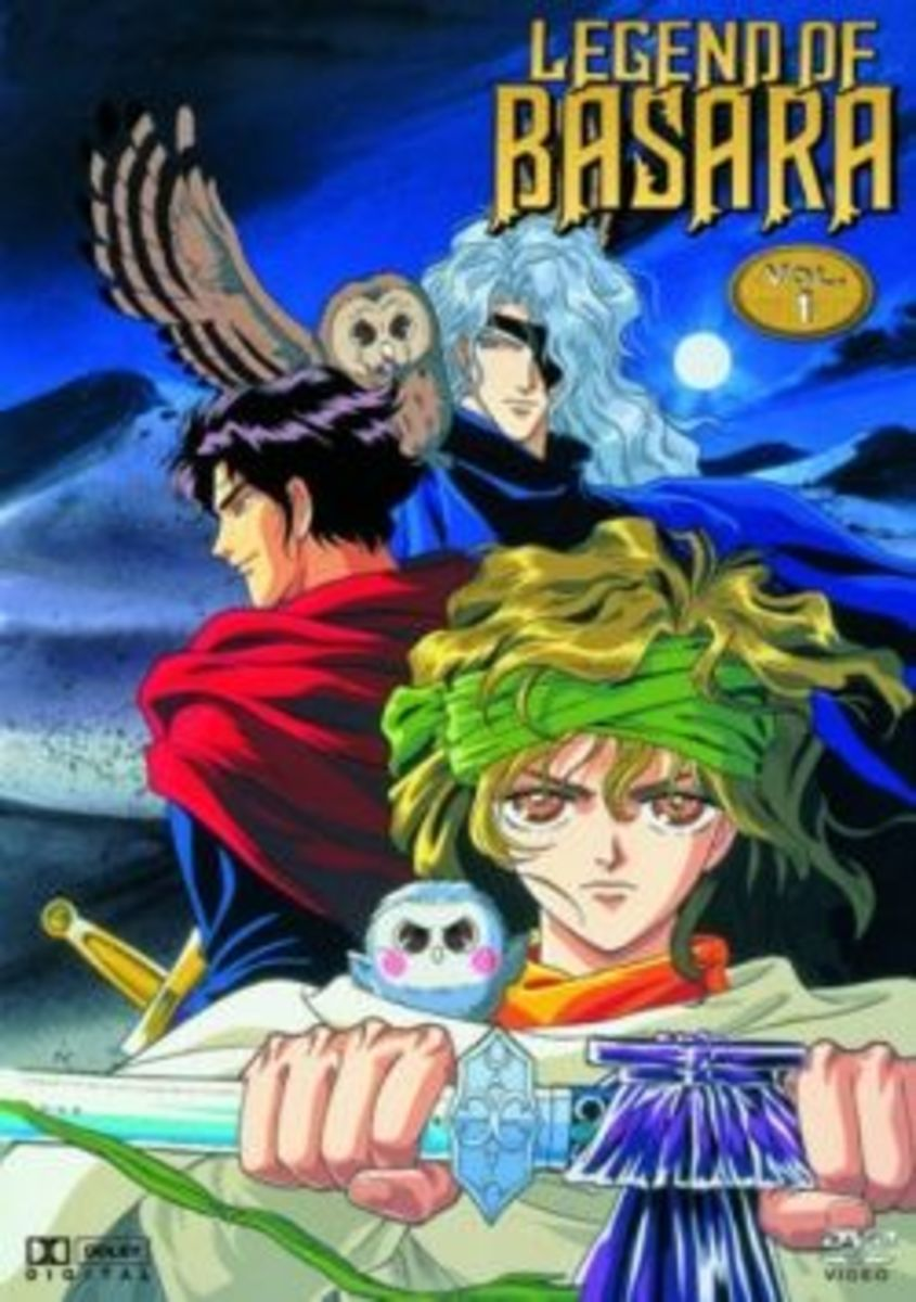 Legend of Basara Anime Volume 1 Cover
