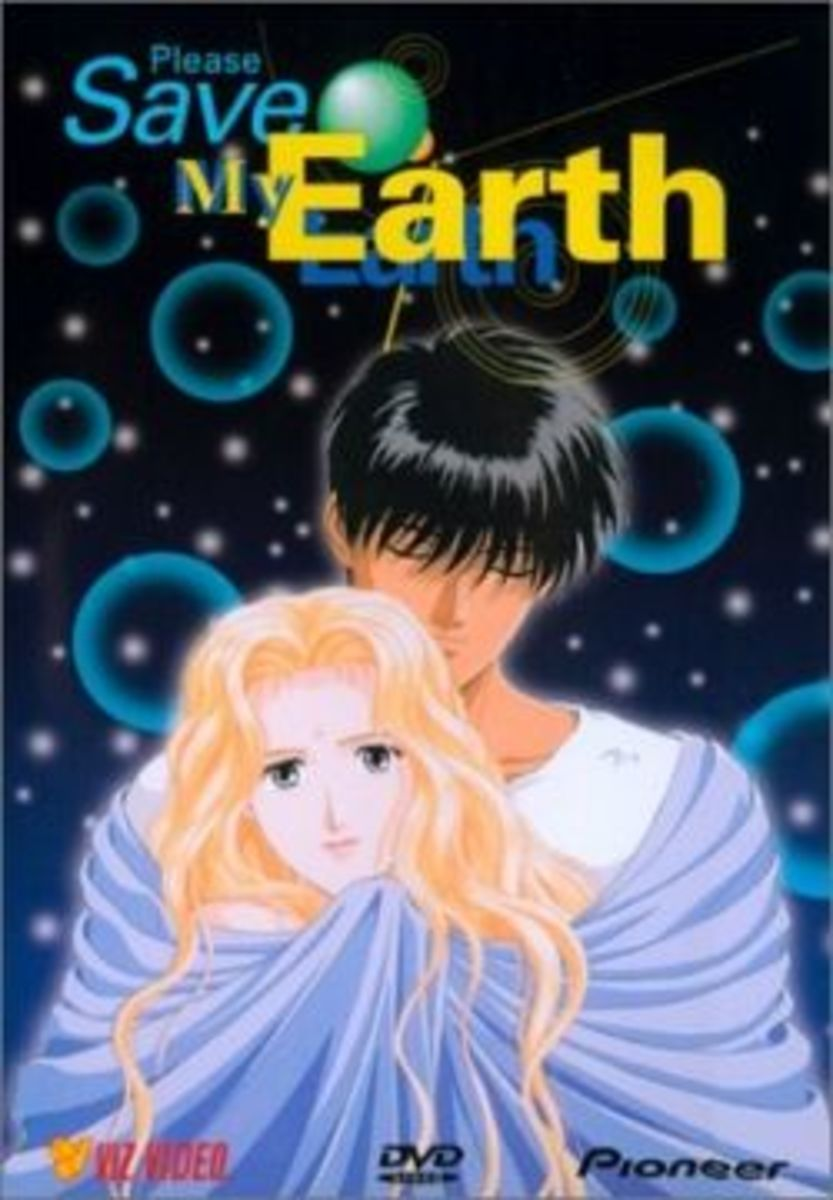 Please Save my Earth DVD Cover
