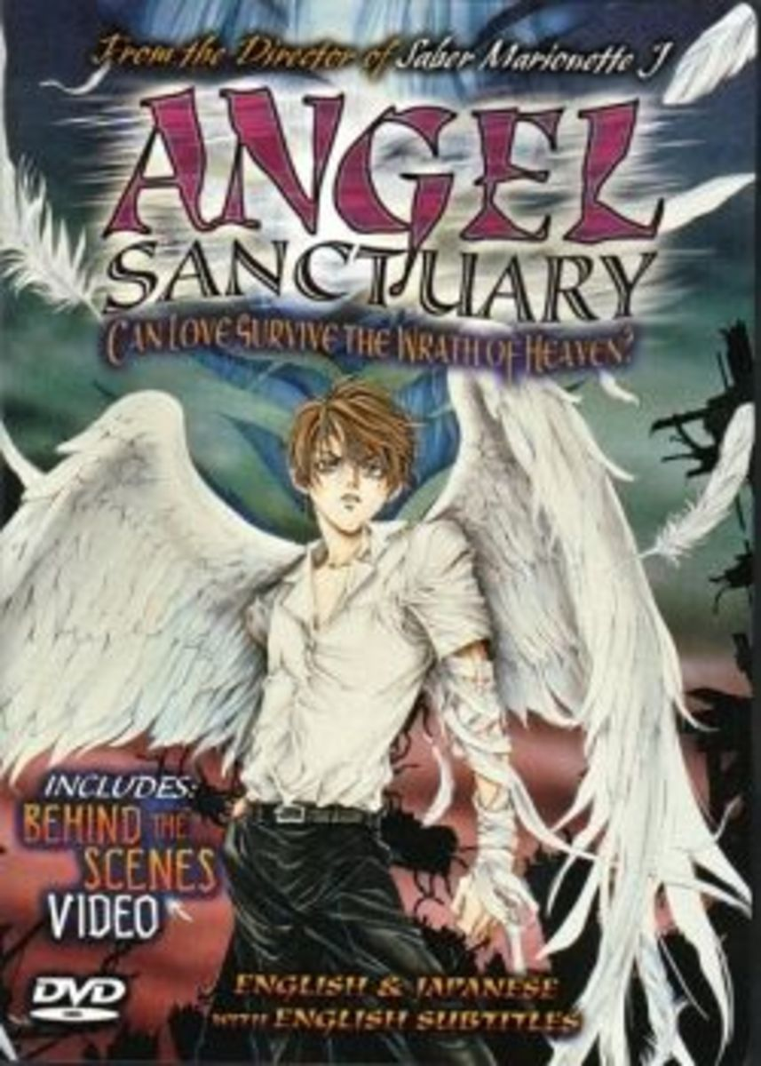 Angel Sanctuary DVD Cover