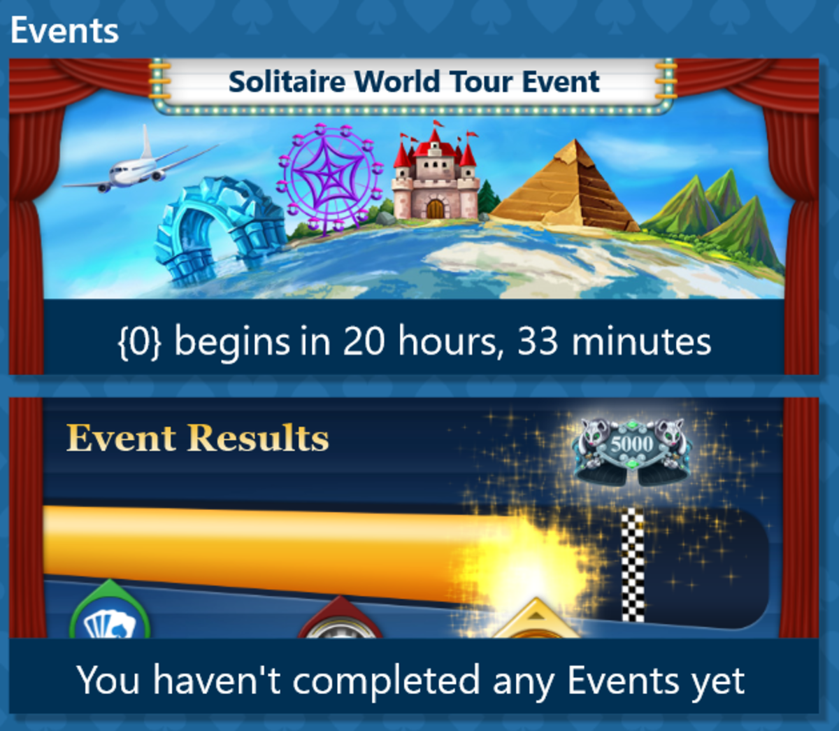 Do you need to upgrade to take part in these events?