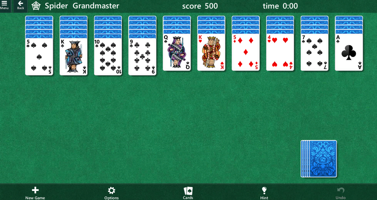 What Are the Odds of Winning a 4 Suit Spider Solitaire Game? What Are the Best Scores?