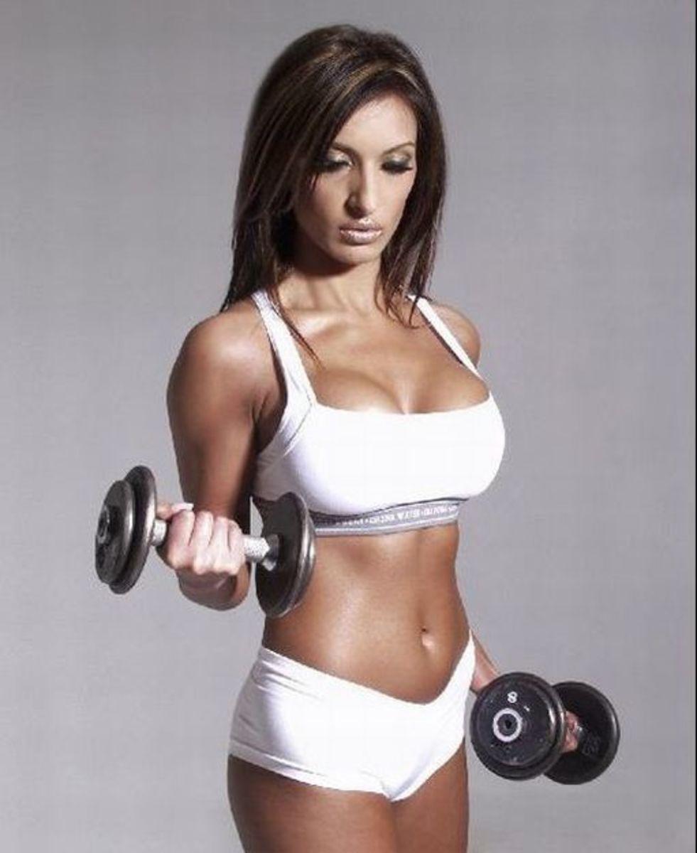 Amrit Dhaliwal - Asian Fitness Model