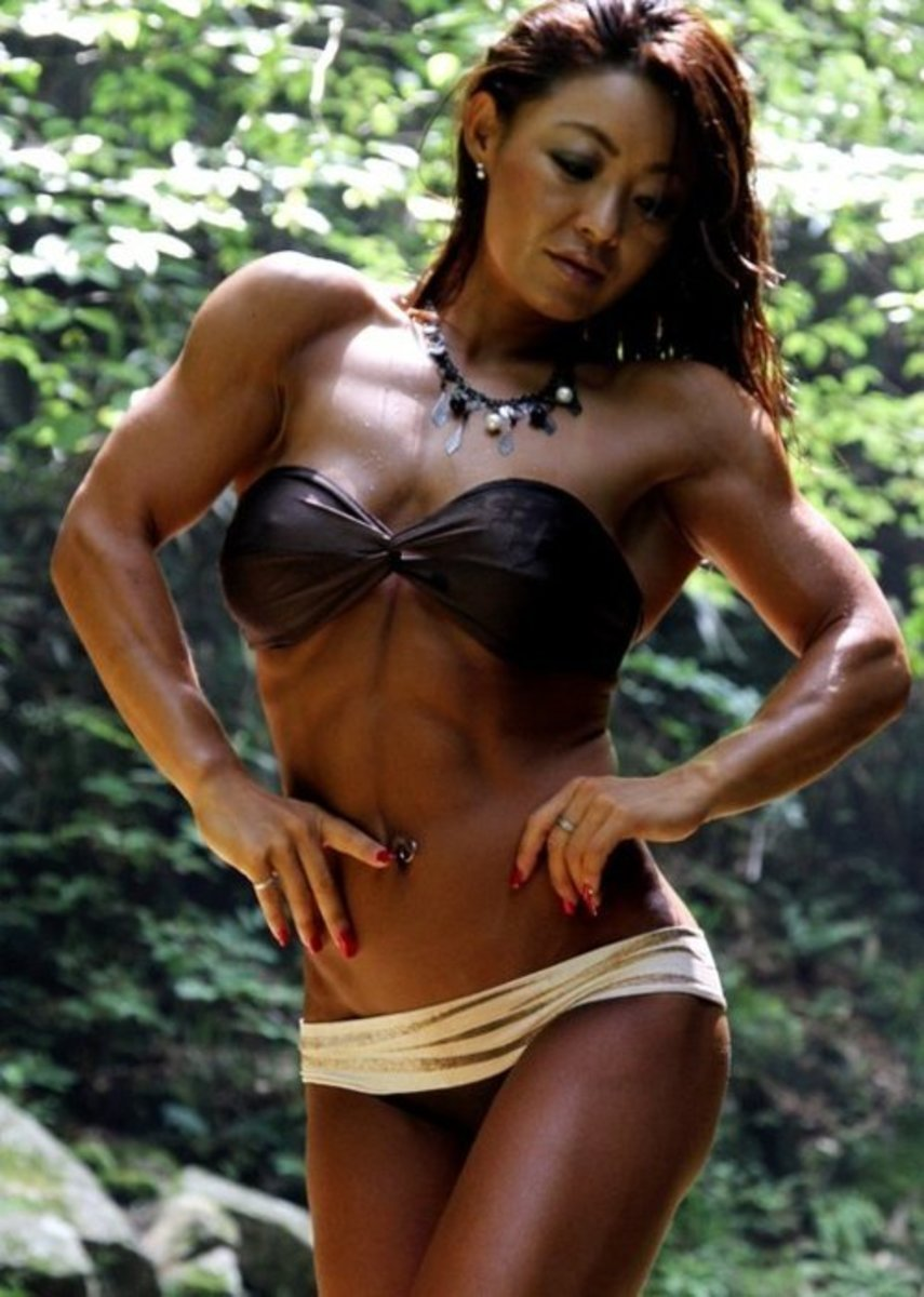 Takako Kikuchi - Asian Female Bodybuilder