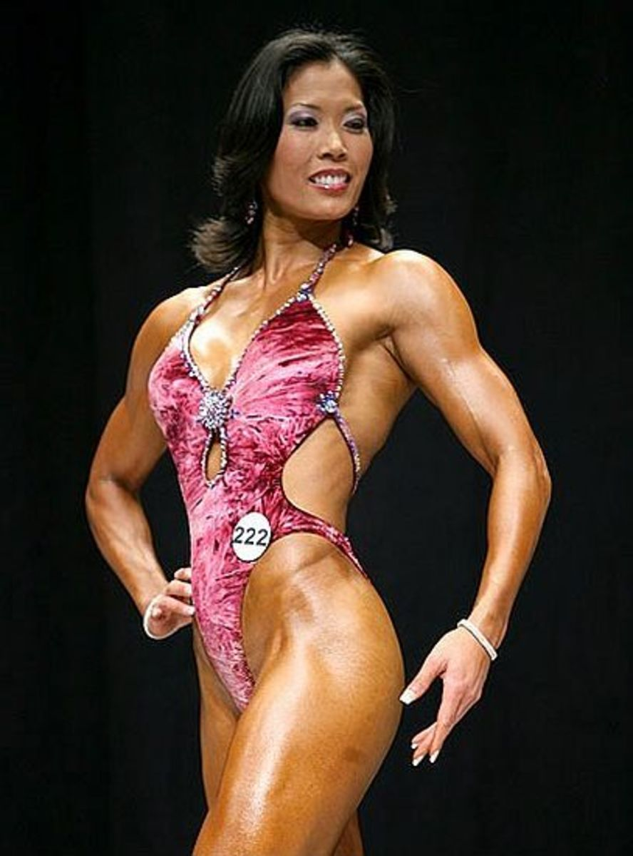 Enji Khoo - Top Figure Competitors (Bodybuilding.com)