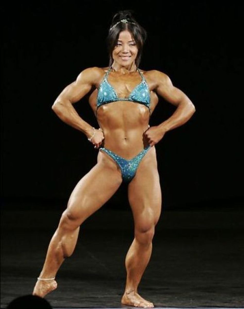 Michelle Jin - Asian Female Bodybuilder