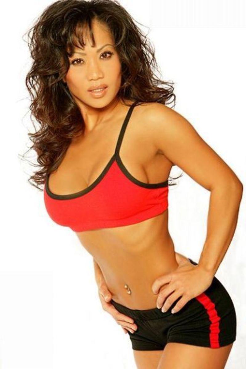Fitness Model Asian 36