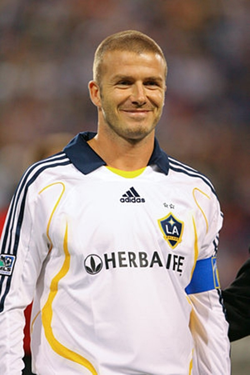 David Beckham, 38, wearing the classic buzz cut, same short length all around. Buzz cuts are in! - 2013 Hairstyles for Men Short Medium Long Hair Styles Haircuts, by Rosie2010