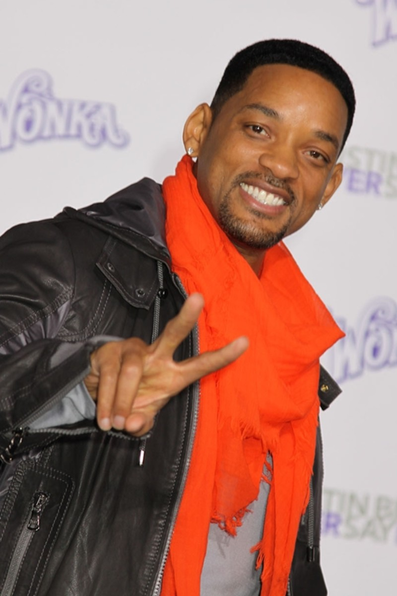 Wil Smith, 44, has a short square hair style for black men.  Very stylish. - 2013 Hairstyles for Men Short Medium Long Hair Styles Haircuts, by Rosie2010
