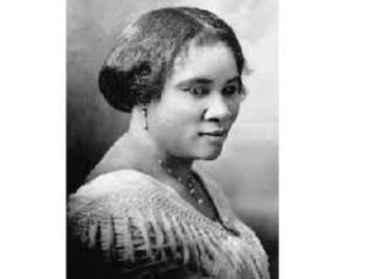 Madam CJ Walker - Inventor of the African American Hot Comb