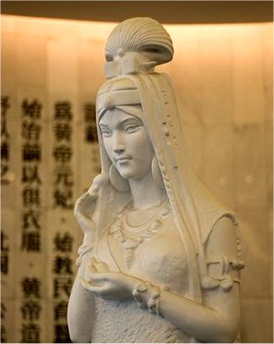 Empress Hsi -Ling, Goddess of Silk