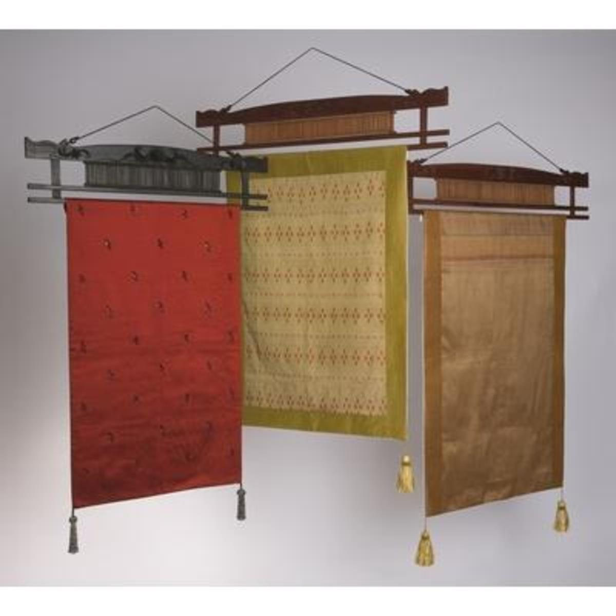 Thai Silk Wall hangings