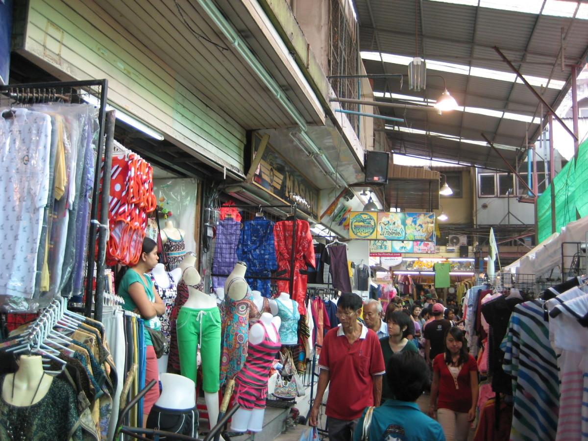 Outer edge of Pratunam Market