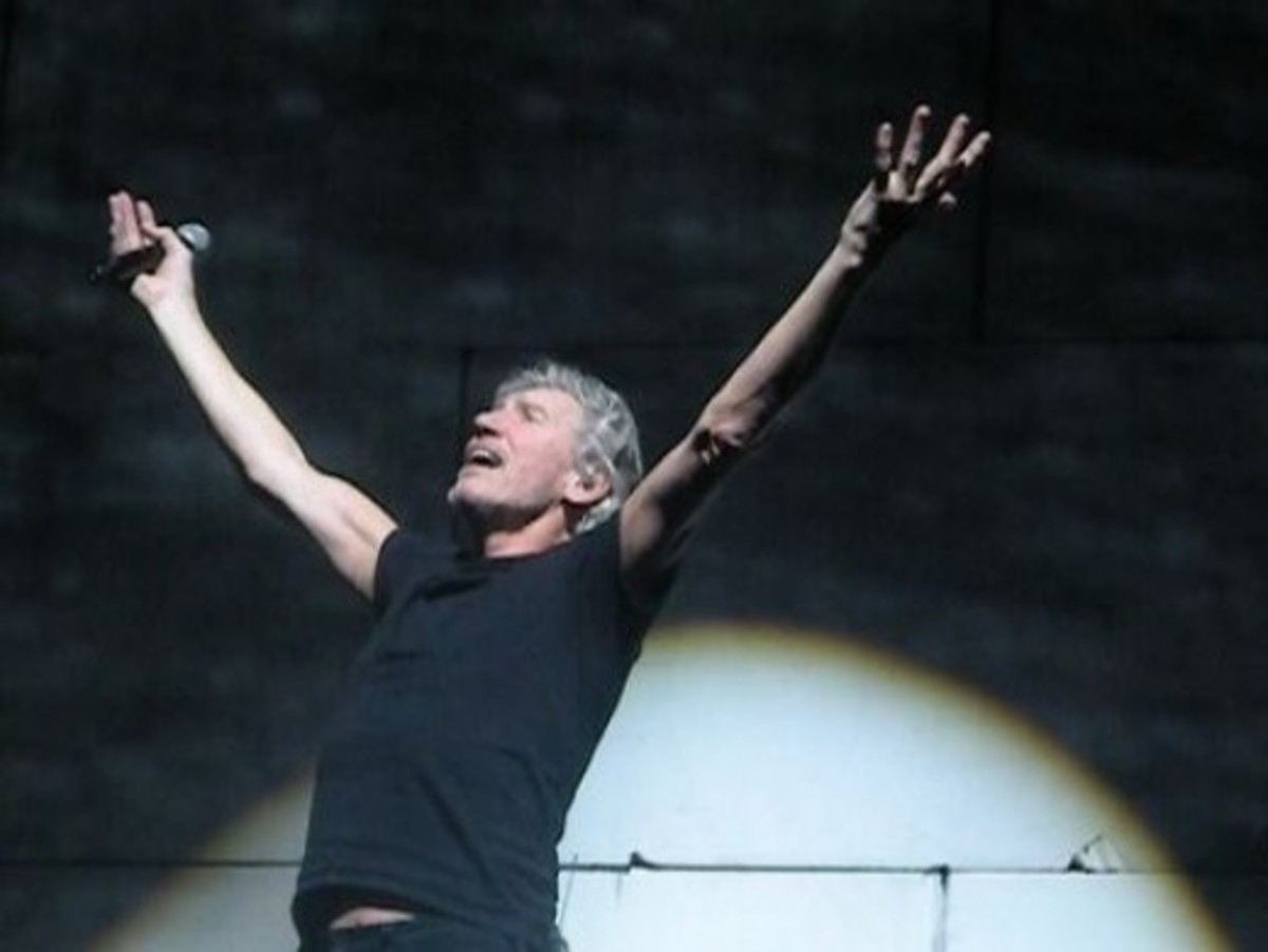 Roger Waters performs The Wall live.